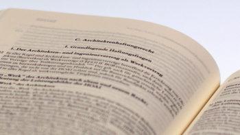 Permalink to: Bau- und Architektenrecht