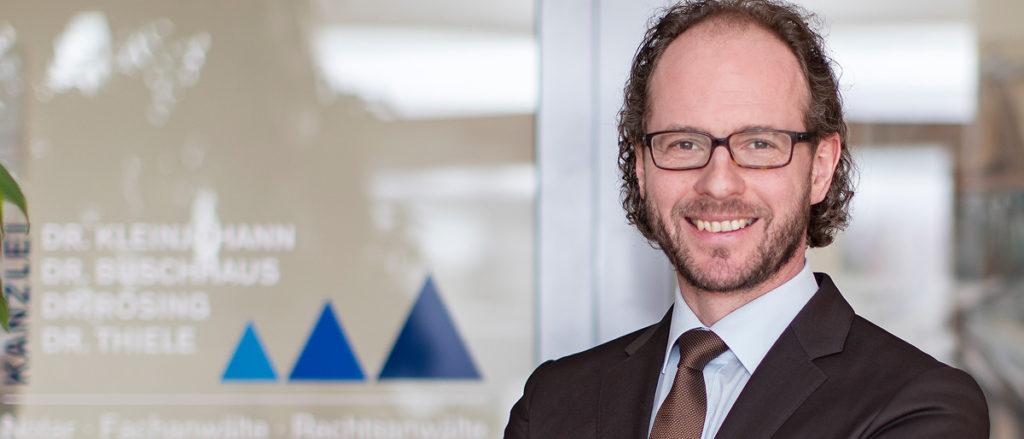 Fachanwalt für Arbeitsrecht und Baurecht – Dr. Markus Thiele
